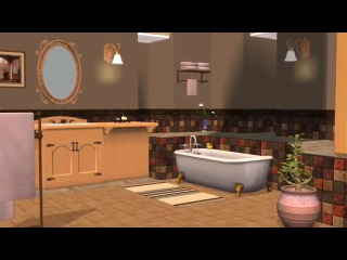Трейлер к каталогу The Sims 2 Кухня и ванна. Дизайн интерьера (видео № 2)